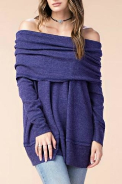 Shoptiques Product: Rawedge Violet Sweater