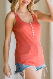 American Chic Ray Knit Tank Top - Product Mini Image
