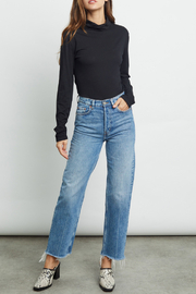 Rails Clothing Ray Lightweight Mock Neck - Side cropped
