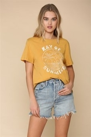 By Together  Ray of Sunshine Tee - Product Mini Image