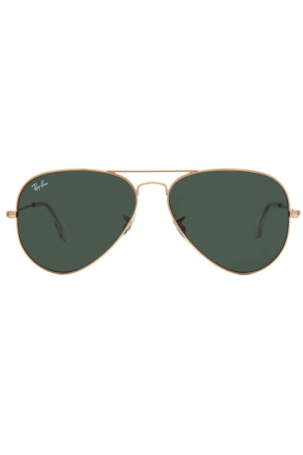 fd9eff9c04 ... coupon for ray ban rayban aviator gold front cropped image 23840 36a3a
