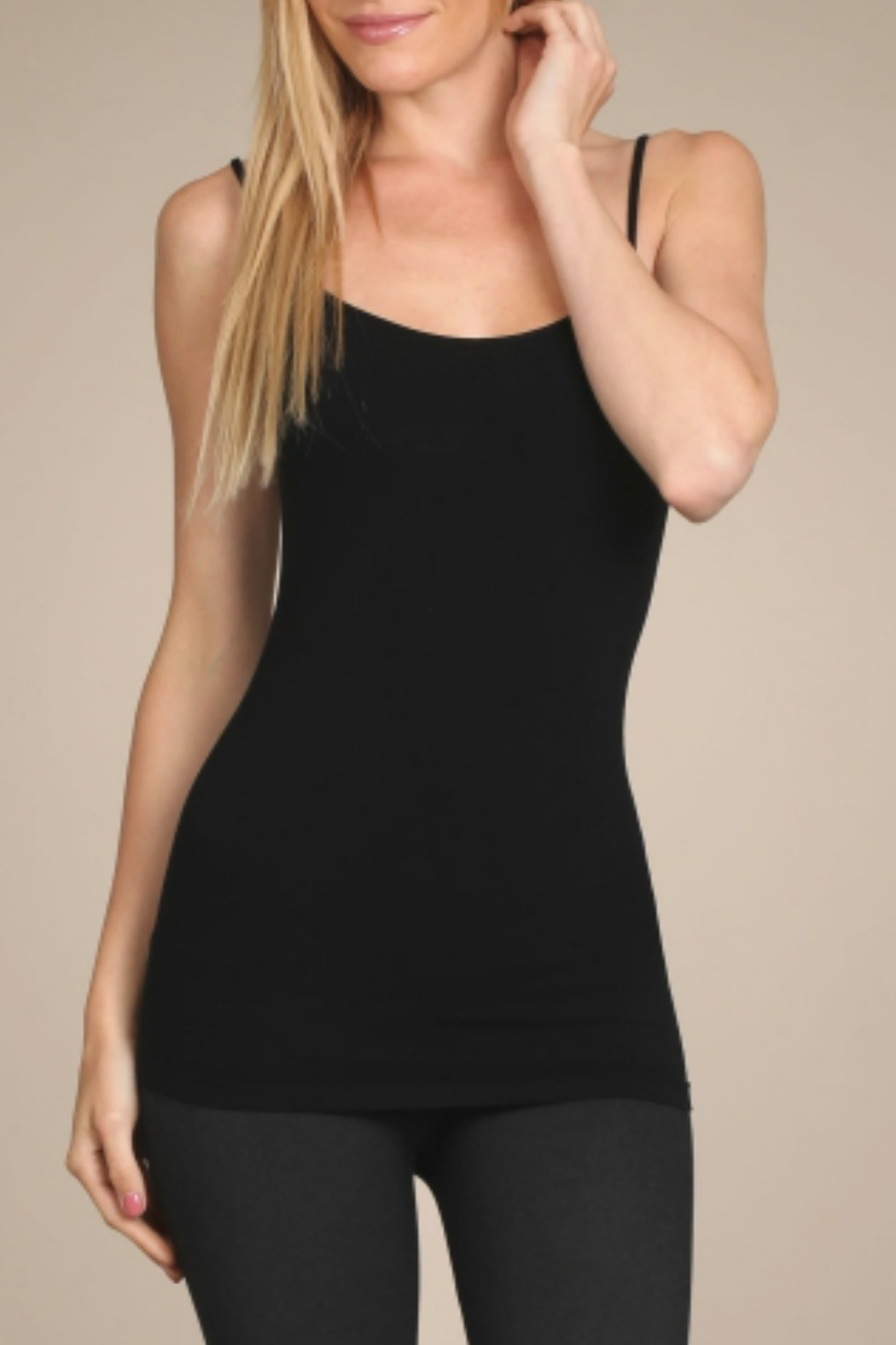 M. Rena Rayon Cami Top - Front Cropped Image