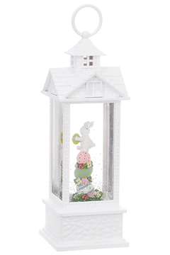 Shoptiques Product: Bunny With Eggs Water Lantern