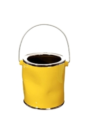 Raz Yellow Paint Can - Front full body