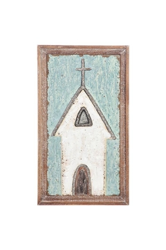 "Shoptiques Product: 26.5 "" Church Wallart"