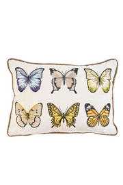 RAZ Imports Butterfly Pillow - Front cropped