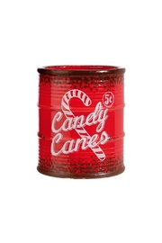 RAZ Imports Candy Cane Bucket - Product Mini Image