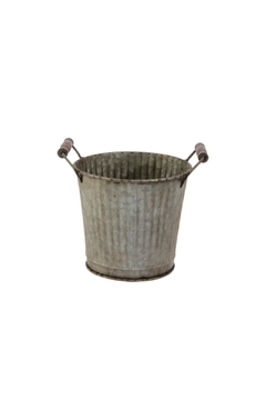 Shoptiques Product: Galvanized Bucket