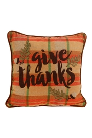 RAZ Imports Give Thanks Pillow - Front cropped