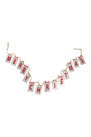 RAZ Imports Merry Christmas Banner - Product Mini Image