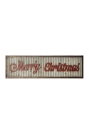 RAZ Imports Merry Christmas Sign - Front cropped