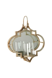 RAZ Imports Mirrored Wall Sconce - Product Mini Image