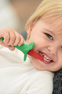 Shoptiques Product: Silicone Baby Toothbrush
