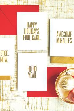 Shoptiques Product: Boxed Set Holiday Cards