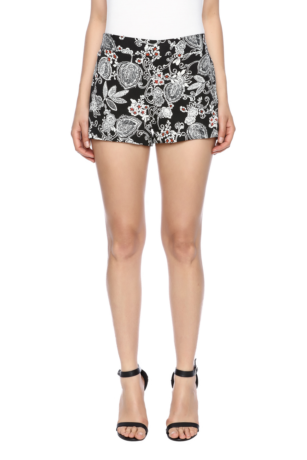 RD Style Beaded Shorts - Side Cropped Image