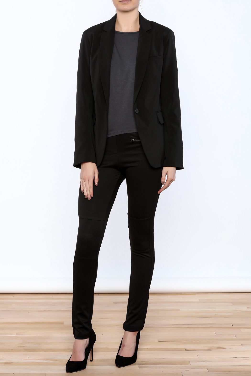 RD Style Cable Insert Blazer - Front Full Image