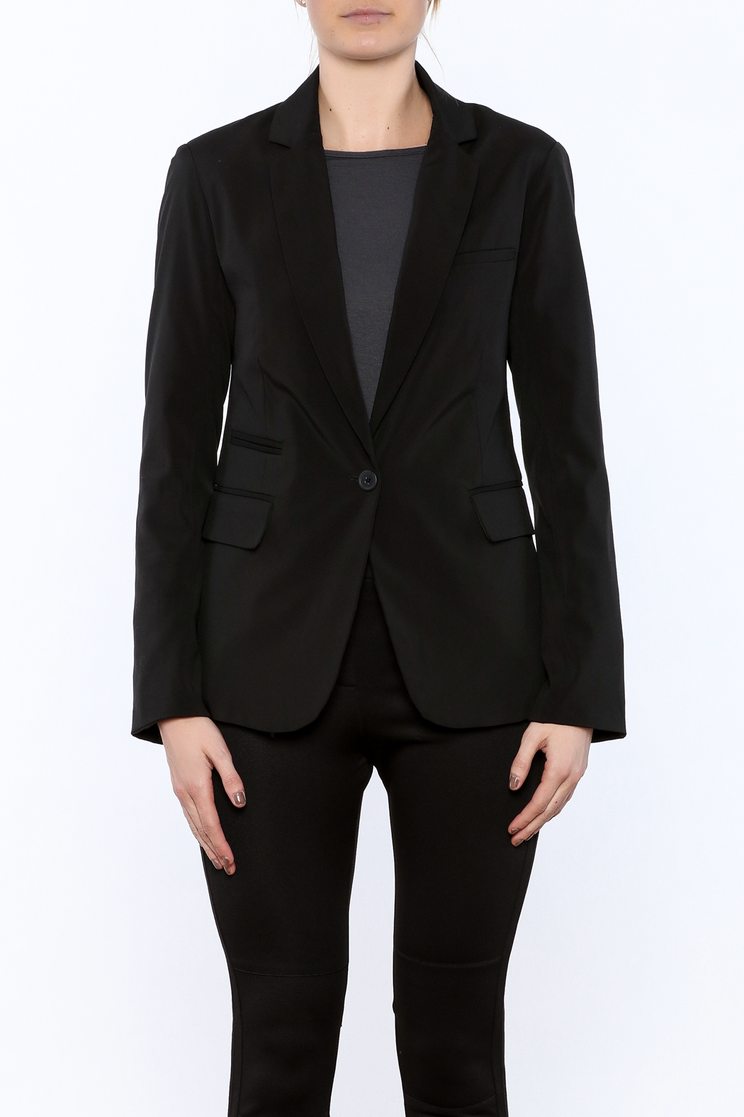 RD Style Cable Insert Blazer - Side Cropped Image