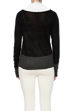 Shoptiques Product: Cowl Soft Stripe Sweater