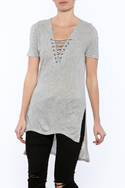 RD Style Crisscross Tunic - Front cropped