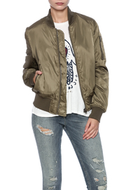 RD Style Olive Bomber - Front cropped