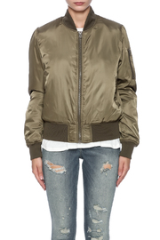 RD Style Olive Bomber - Side cropped