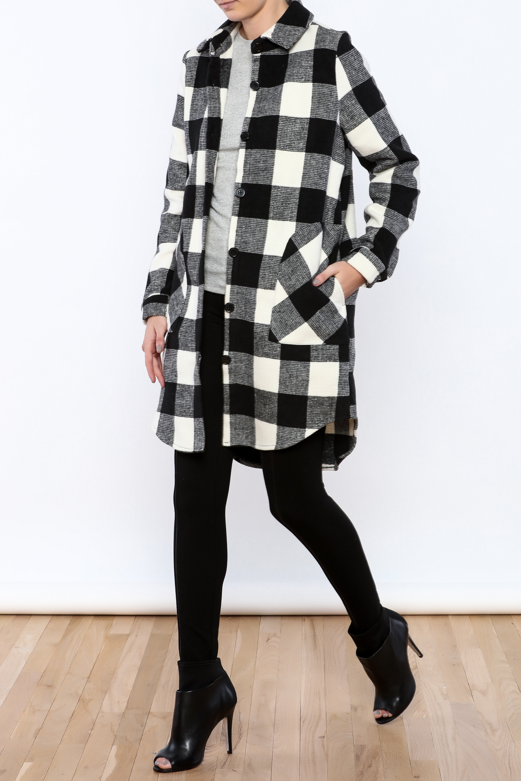 RD Style Plaid Coat from Texas by V&X Boutique — Shoptiques
