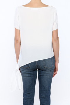 RD Style White Side Tie Top - Alternate List Image