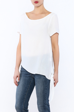 RD Style White Side Tie Top - Product List Image