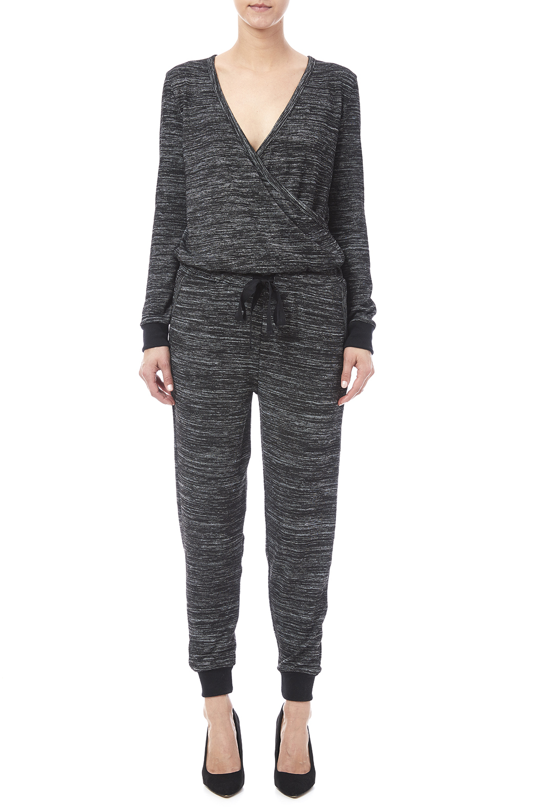 RD Style Trackie Jumpsuit - Front Cropped Image