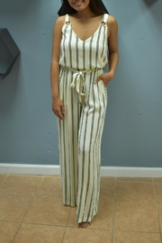 RD Style Alayna Striped Jumpsuit - Product Mini Image