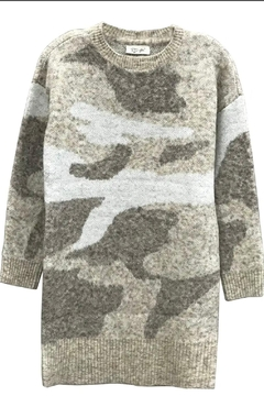 RD Style Camo Sweater Dress - Product List Image