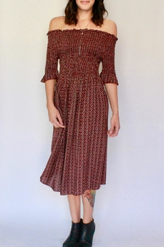 RD Style Floral Smocked Dress - Product List Image