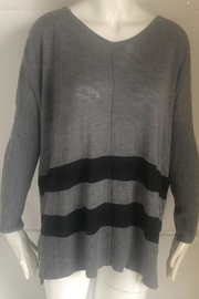 RD Style Grey V-Neck Sweater - - Product Mini Image