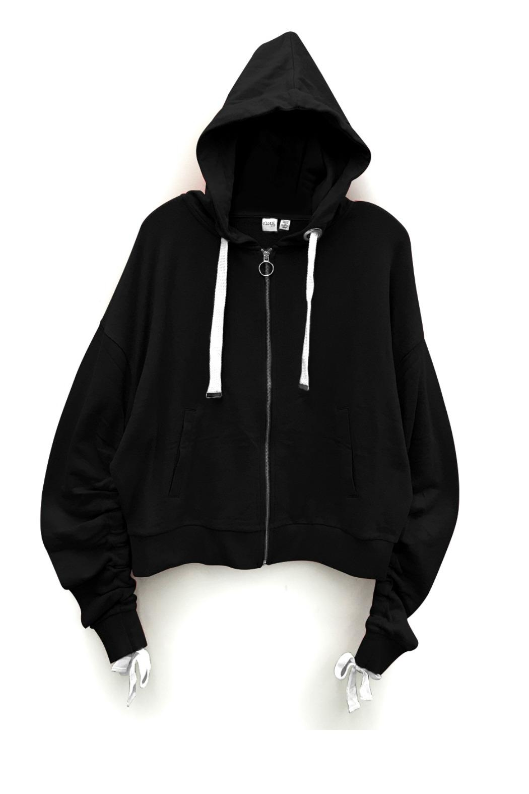RD Style Gym Lace Hoodie - Main Image