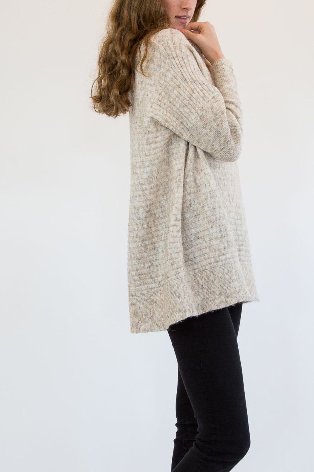 RD Style Nude Sweater - Side Cropped Image