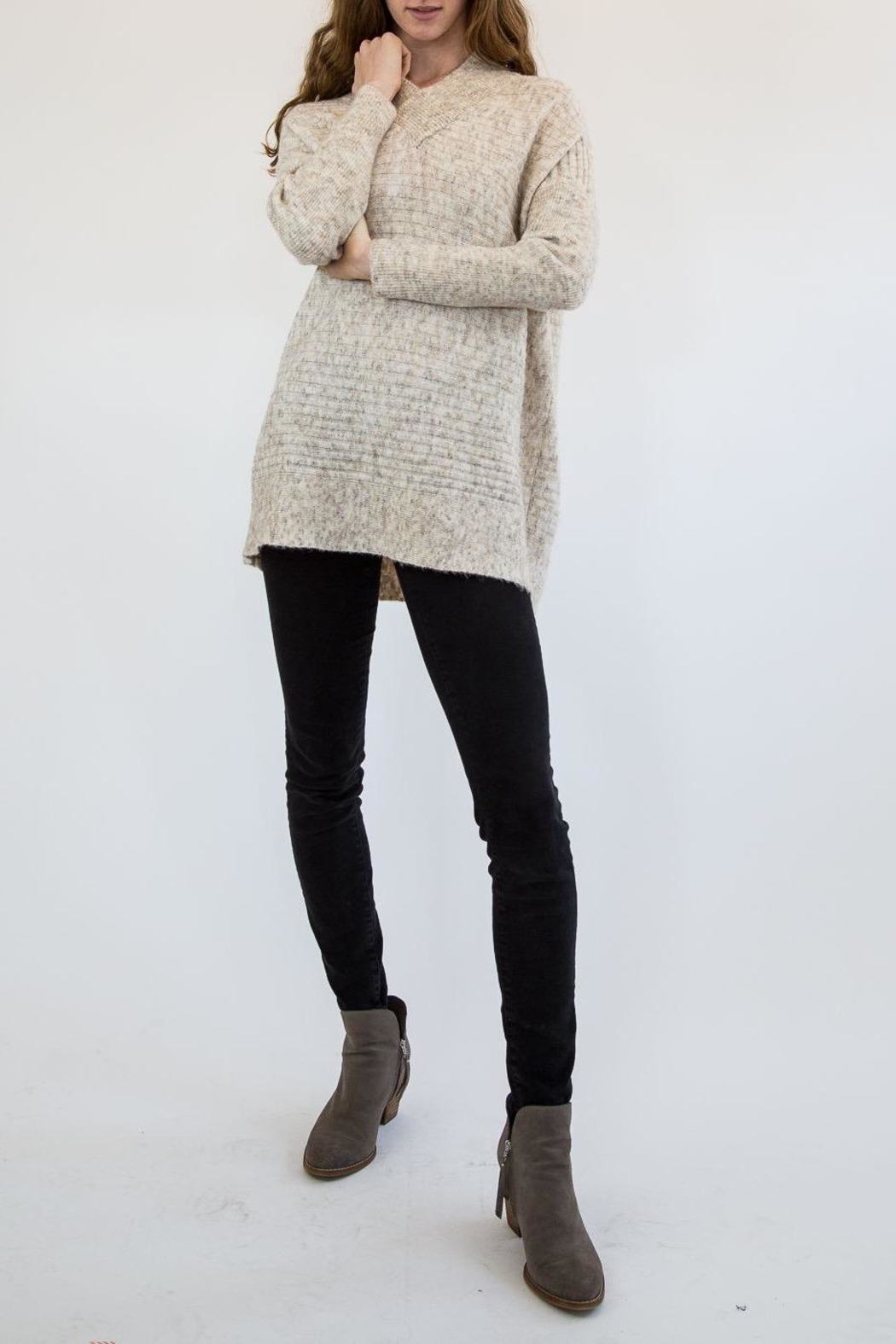 RD Style Nude Sweater - Main Image