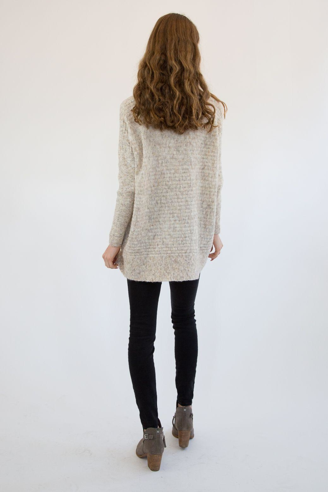 RD Style Nude Sweater - Back Cropped Image