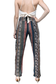 RD Style Printed Flowy Pants - Front full body