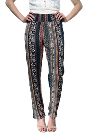 RD Style Printed Flowy Pants - Side cropped
