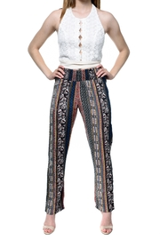 RD Style Printed Flowy Pants - Product Mini Image