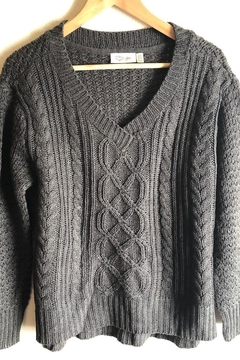 RD Style Pullover Cable-Knit Sweater - Product List Image