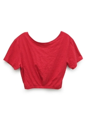 RD Style Red Crop Top - Product Mini Image