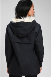 RD Style Ribbon Faux Fur Anorak - Side cropped
