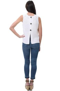 Shoptiques Product: White Sleeveless Top