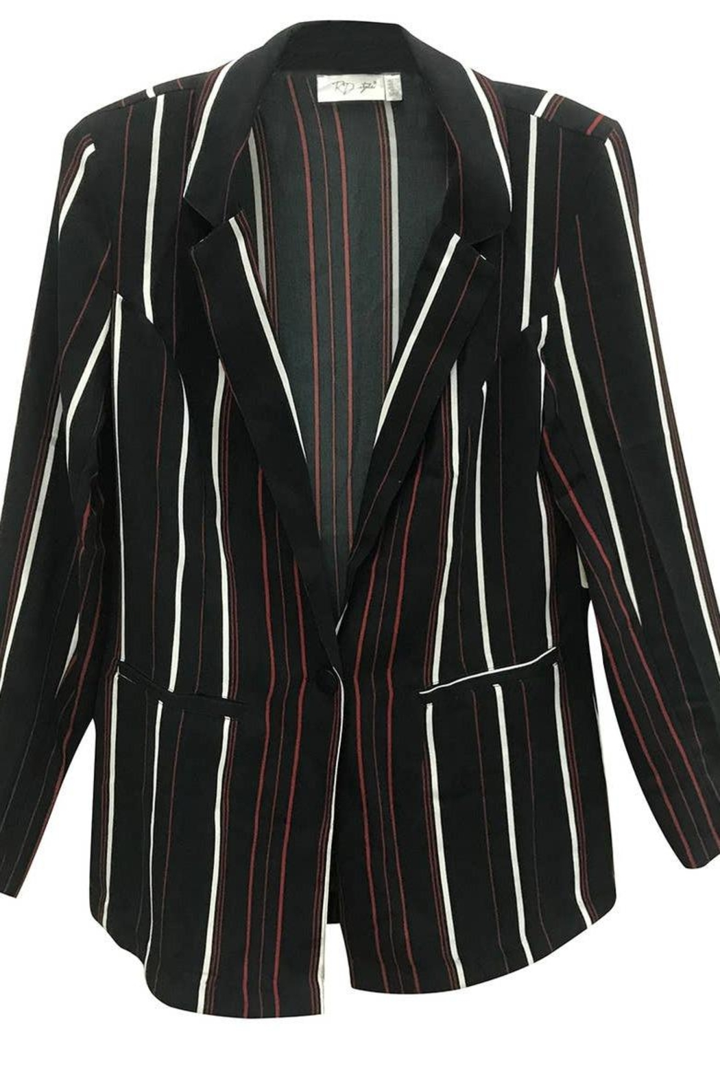 RD Style Striped Blouse - Main Image