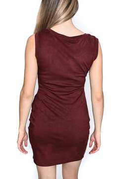 RD Style Suede Bodycon Dress - Alternate List Image