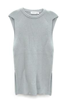 Shoptiques Product: Titanium Sleeveless Sweater