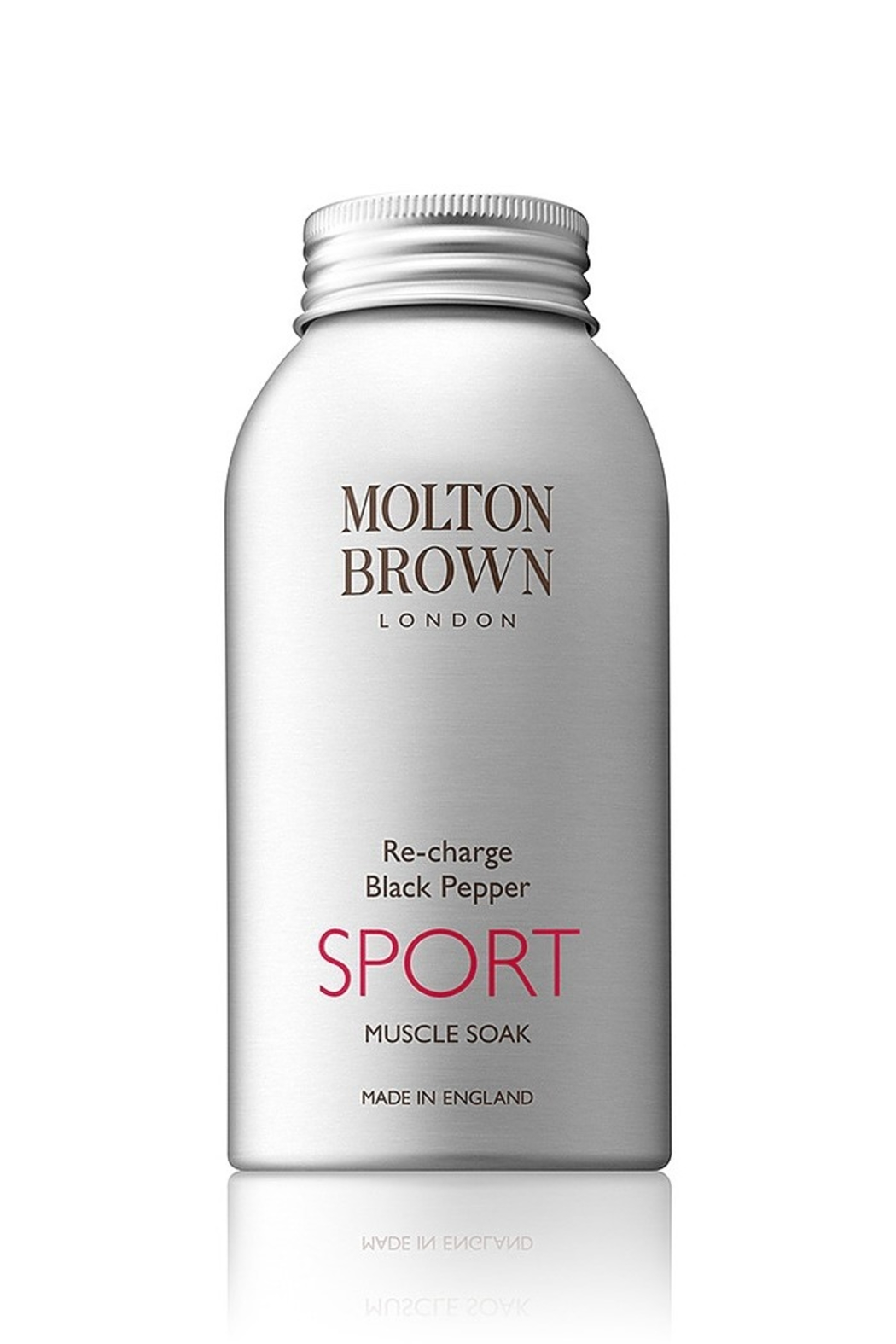Molton Brown Re-charge Black Pepper SPORT Muscle Soak - Main Image