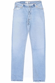 RE/DONE Faded Blue Jean - Front cropped