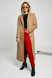 RE/DONE Velvet high rise trousers - Front cropped